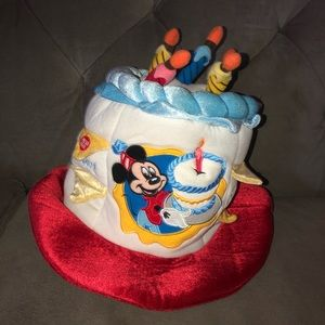 Walt Disney World Light Up Candle Birthday Hat